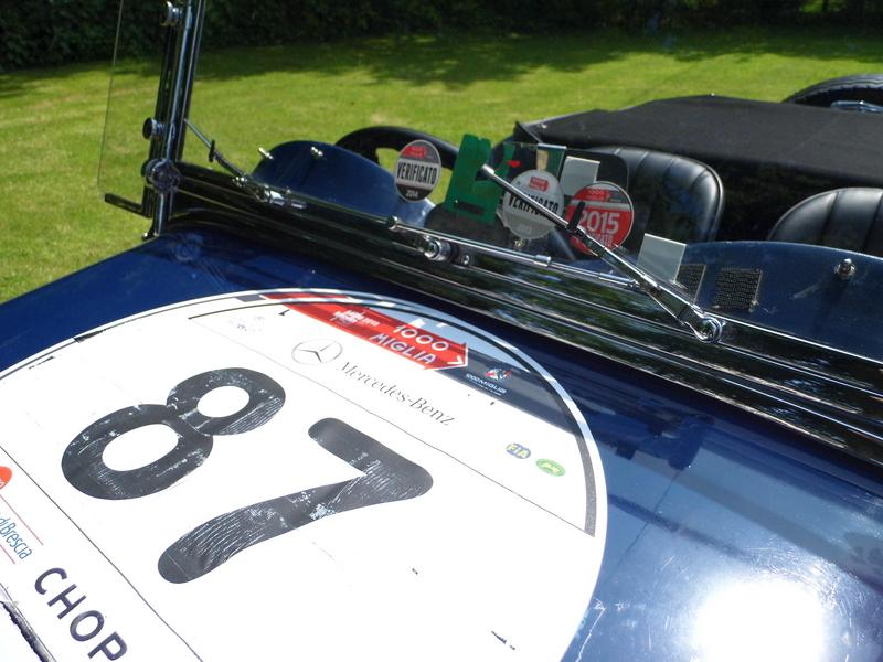 Aston-Martin Le Mans, ready for the Mille Miglia