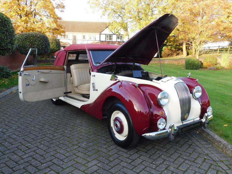 1952 Lagonda 2.5 Drophead Coupe