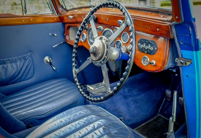 1934 Aston-Martin MKII Special Sports saloon