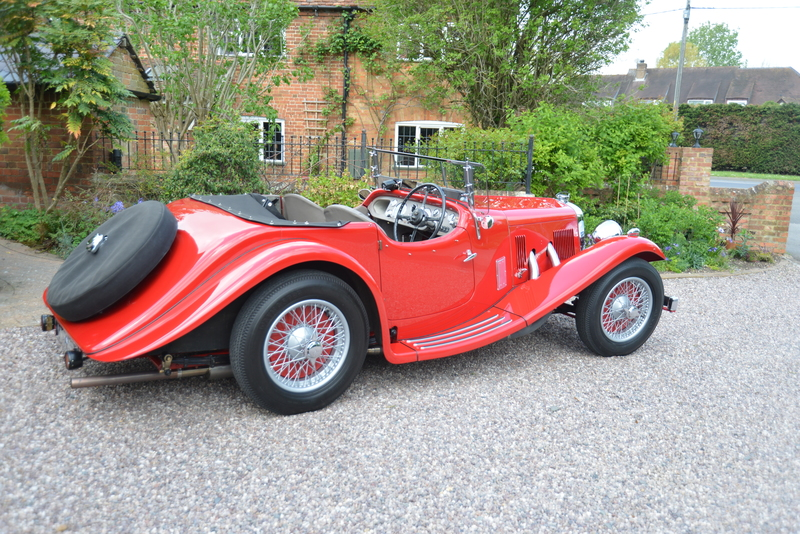 1938 Aston Martin Short Chassis 15/98