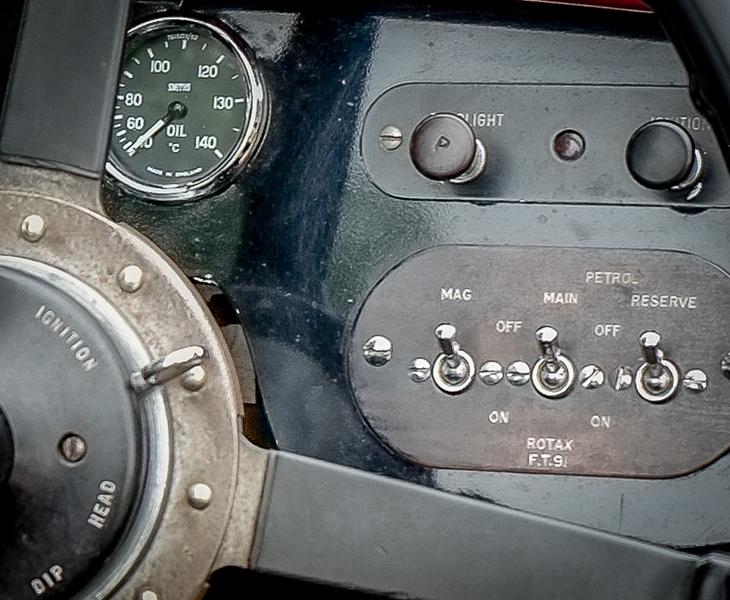 1934 Aston-Martin Short Chassis MKII