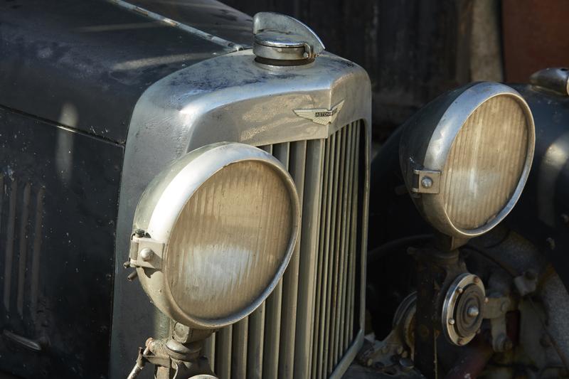 Barn Find Aston Martin MkII