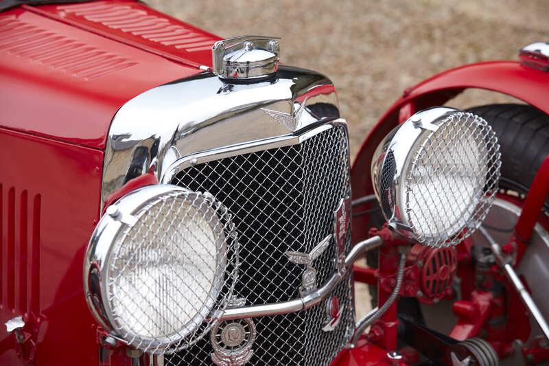 1933 Aston-Martin 12/50 Le Mans