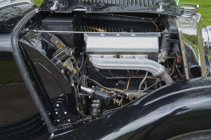 1937 Aston Martin Long Chassis 15/98