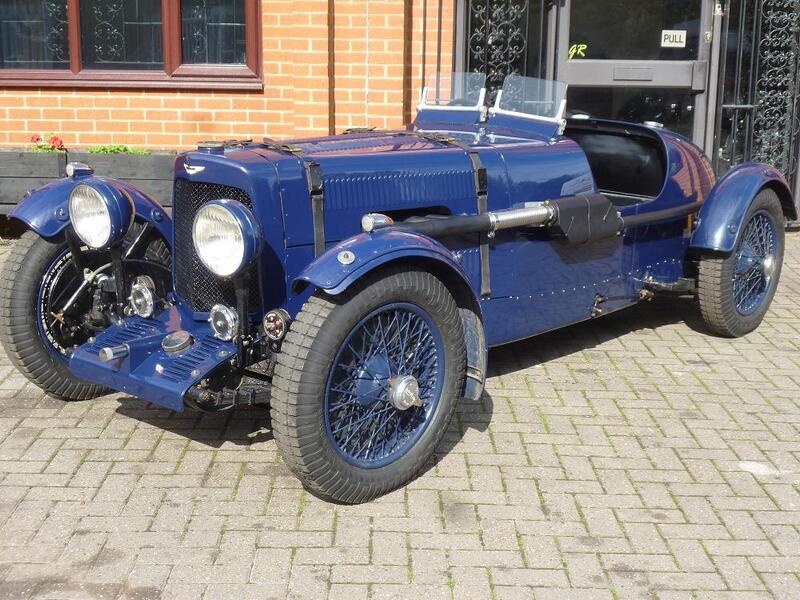 1935  Aston Martin MkII