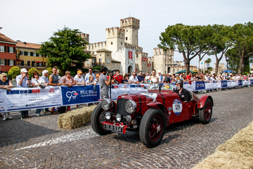 Arrive and drive at the World's best events with Ecurie Bertelli