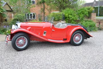 1938 Aston Martin Short Chassis 15/98