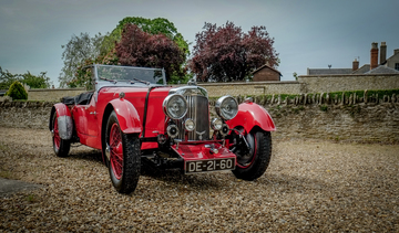 1934 Aston-Martin Short Chassis MKII