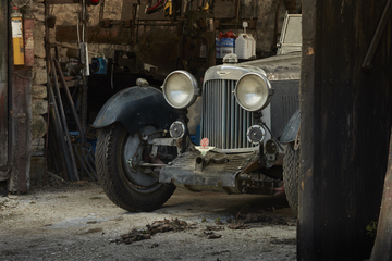 Barn Find Aston Martin MkII