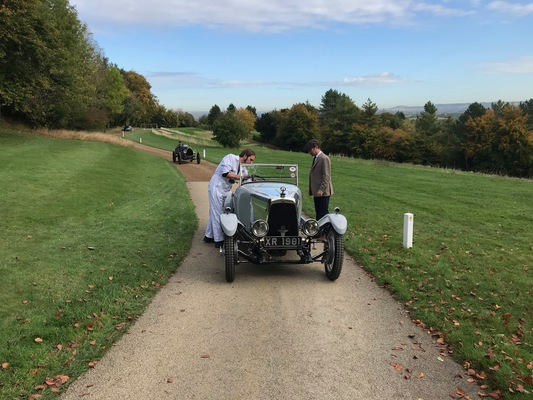 Side Valve 'Cloverleaf' marks 95th anniversary at Aston Hill